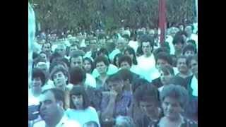 Grude - 5. srpanj 1990.- sveta misa za žrtve II.svjetskog rata i poraća