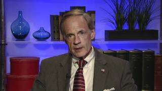 Sen. Tom Carper Discusses the Highway Speed E-ZPass Lanes Project at the I-95 Newark Toll Plaza