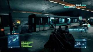 Battlefield 3 Beta Multiplayer Gameplay 1080i HD (Xbox 360)