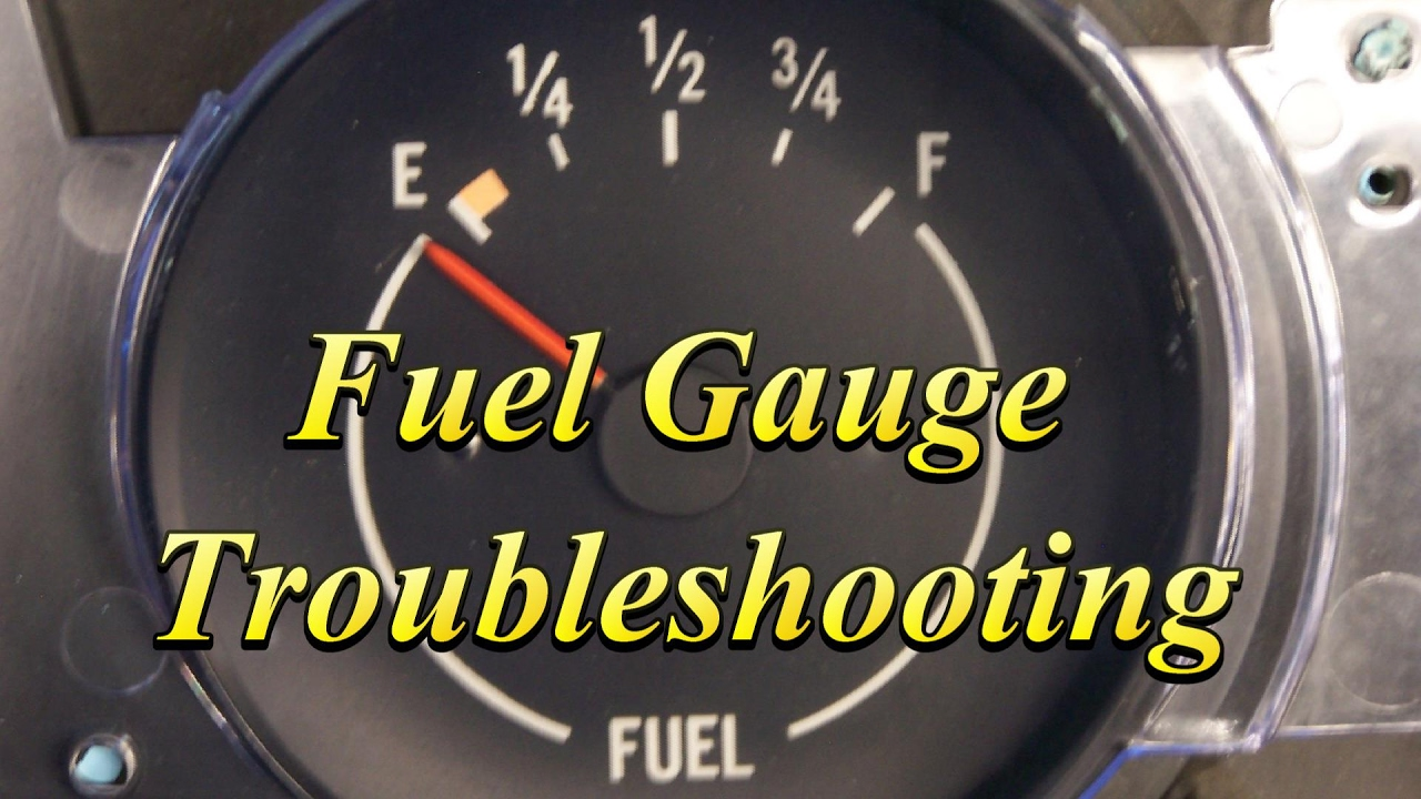 Gas Gauge Not Working >> How To Diagnose A Fuel Gauge Easy Not In The Book Tricks