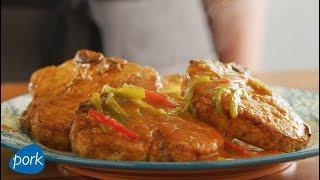 Instant Pot Thai Pork Chop Curry