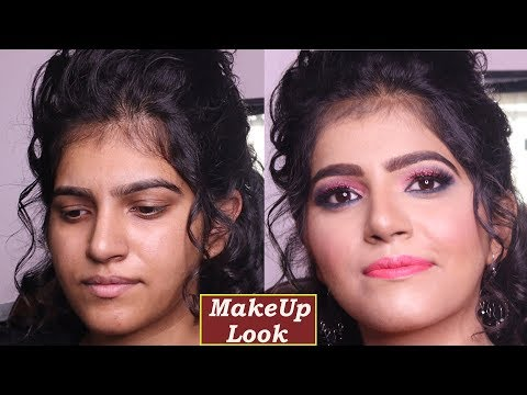 Makeup for beginners- How to Do Makeup Step By Step -Professional Party Makeup -aapki saheli - 동영상