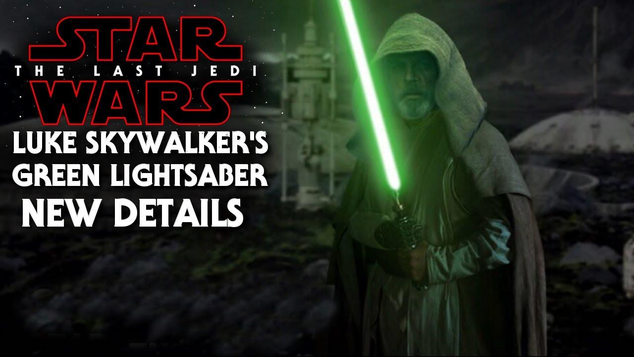 Image result for star wars the last jedi green lightsaber