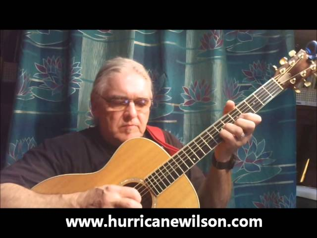 "Roger 'Hurricane"" Wilson Performing ""Sandy Hook"""