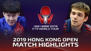 Кирилл Герасименко vs Wang Chuqin | Hong Kong Open 2019 (Pre)