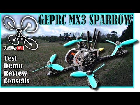 GEPRC MX3 SPARROW Review Test Démo / THE BEAST !!!!!