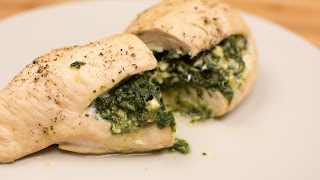 Simple Spinach and Feta Stuffed Chicken - Recipe Rack
