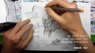 How To Create Your Own Drawing Tutorials / Lessons