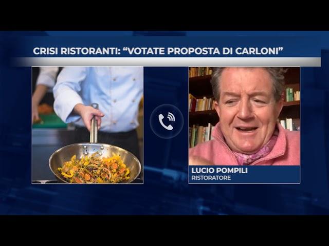 Crisi ristoranti: