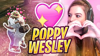 POPPY & WESLEY : DEBUT DE LA LOVE STORY... 💗  BEST OF GTA RP FLASHBACK #4