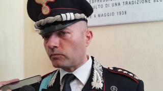 Comandante Nicola Conforti Comando Provinciale dei Carabinieri