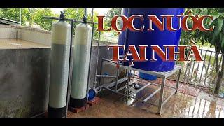 Lắp đặt bộ lọc nước sinh hoạt gia đình sao cho hiệu quả?