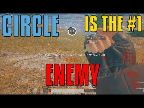 The Circle Is The #1 Enemy | PUBG