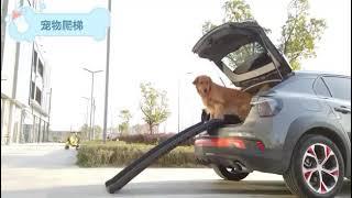 캠핑 차박 트렁크 SUV 계단 애견 강아지 대형견 접이…