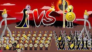Stick War Legacy - 100 Meric & The Elite Vs Final Boss