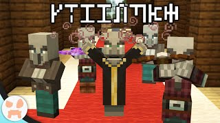 The Most Mysterious Update of Minecraft 21w37a, The Illager Font