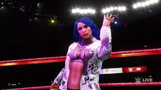 WWE 2K20 - Sasha Banks VS Lacey Evans VS Alicia Fox