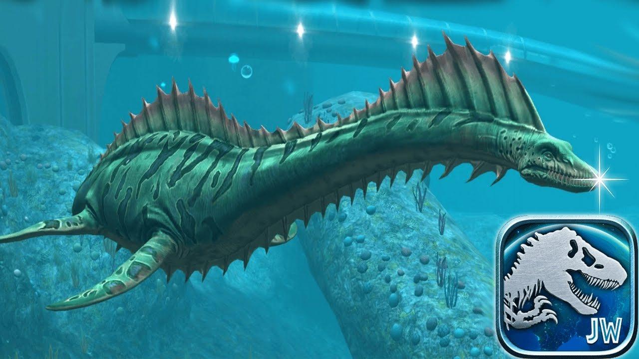 New Free Sea Monster !! | Jurassic World The Game - YouTube
