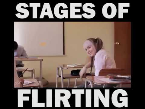 Stages Of Flirting