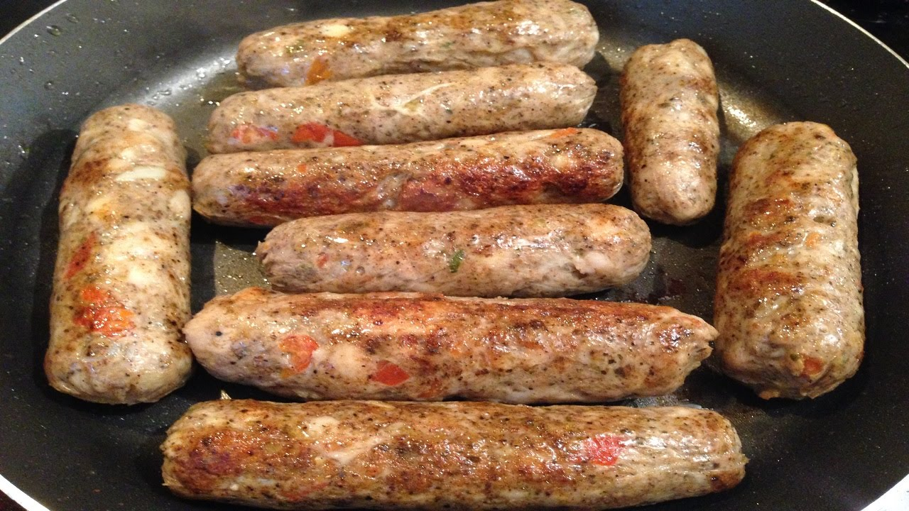 How To Make Chicken Sausage Without Casing  ط�������� ت�������� ن�������� ا���������� ف��  ا��������  Youtube