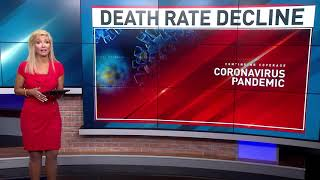 COVID-19 death rates continue to drop since start of pandemic