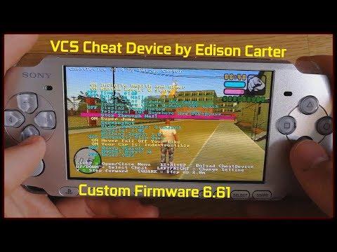Tutorial: Installing GTA VCS Cheat Device   PSP CFW 6.61