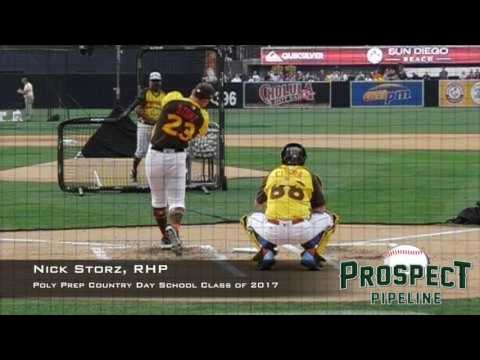 Nick Storz, RHP, Poly Prep Country Day School, Swing Mechanics at 200 FPS #HRDerby