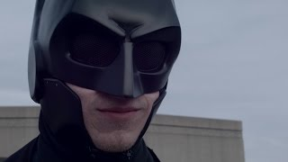 Student creates real life 'Batsuit' combat armor