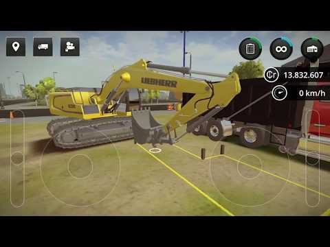 Construction Simulator 2 #119 Excavation and Canal Works HD