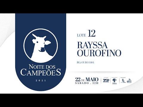 Lote 12   Rayssa OuroFino   OURO 3464 Copy
