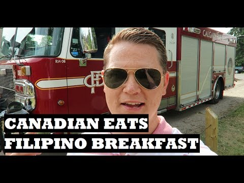 CANADIAN EATS FILIPINO BREAKFAST
