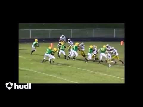 Garner Harrison Fleming - #67 Guard - Eastern Alamance High School - Football Highlights