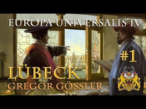 Let's Play Europa Universalis 4 – Lübeck #1: Die Pläne des Gregor Gössler (Hausregeln / deutsch)