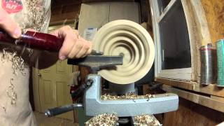 Woodturning Segmented Circus Bowl