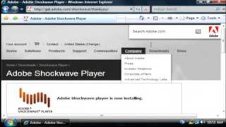 How to Download & Install the Adobe Shockwave Plug-in