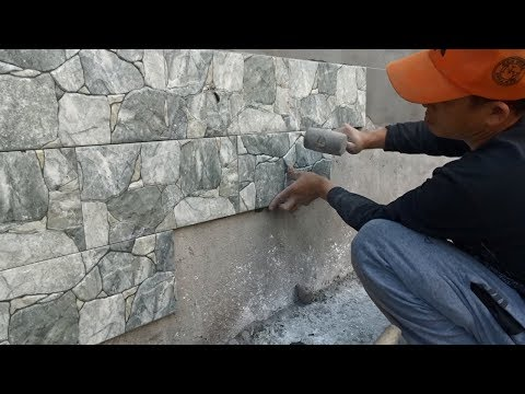 techniques-for-installing-decorative-ceramic-tiles-on-concrete-wall---install-ceramic-tiles-steps