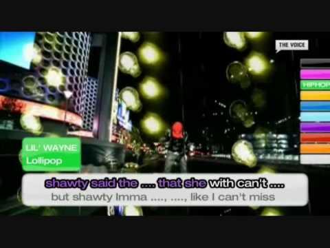 Lil Wayne - Lollipop karaoke Lyrics + Instrumental