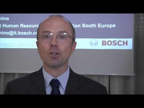Master IHRM | La parola ai protagonisti: Roberto Zecchino (Bosch)