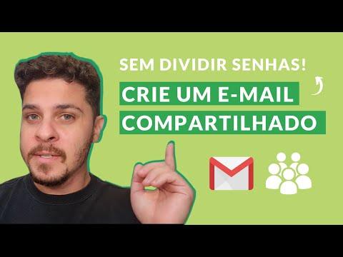 Como criar grupos de e-mail? - Gmail compartilhado sem precisar dividir nenhuma senha