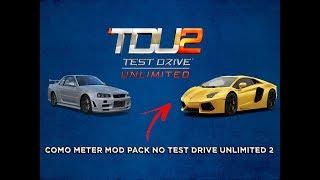 TUTORIAS #2 COMO INSTALAR O MOD PACK DE CARROS NO TEST DRIVE UNLIMITED 2 !!