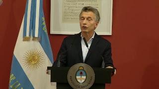 El presidente Mauricio Macri encabeza el lanzamiento del programa de becas Progresar 2018