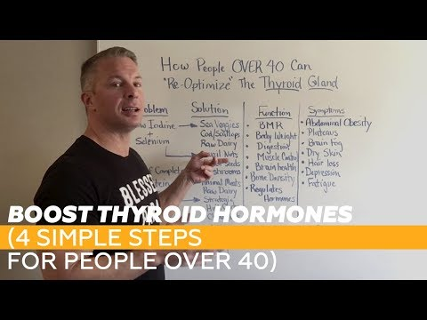 BOOST Thyroid Hormones (4 simple steps for people OVER 40)