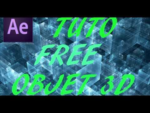 FREE Objets 3D [Où les télécharger TUTO] Part 1