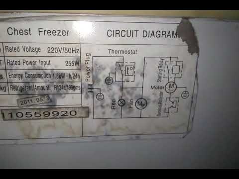 refrigerator thermostat wiring diagram 2001 nissan pathfinder car stereo radio celfrost chest freezer diagrams auto cool dhule youtube