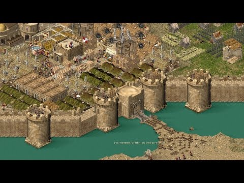 Stronghold Crusader HD - THE GREAT WALL