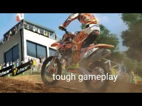 MXGP the official motocross gameplay difficulty - realistic map germany (tough gameplay)  