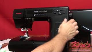 janome HD3000BE Sewing Machine Demonstration by Ken's Sewing Center in Muscle Shoals, AL