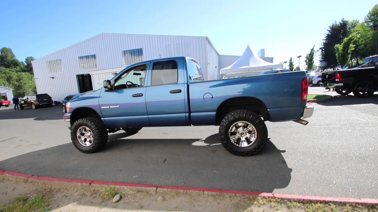 2006 Dodge Ram 1500 Atlantic Blue Pearlcoat 6s559731