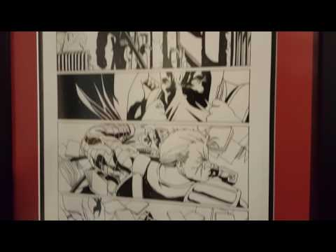 Deadpool & Harley Quinn Original Comic Book Pages