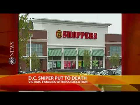 D.C. Sniper Executed